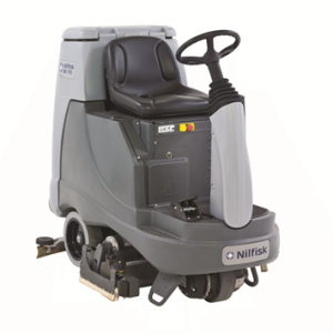 RIDE ON BATTERY SCRUBBER